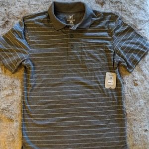 George grey pattern polo t shirt